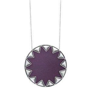 House of Harlow 1960 Sunburst Pyramid Necklace